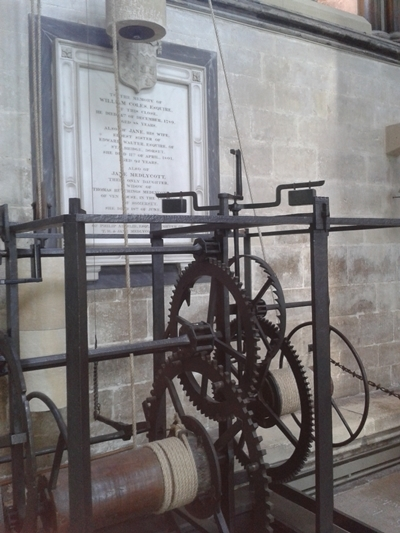 The World's oldest working mechanical clock (1386)