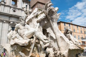 Fountain by Bernini